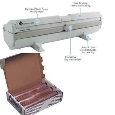 Wrapmaster 1000 Dispenser PLUS INCLUDED 3 Rolls of Cling Film Refills
