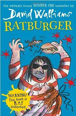 Ratburger by Walliams, David Book