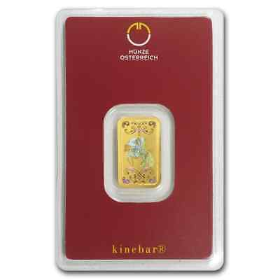 5 gram Gold Bar - Austrian Mint KineBar Design (In Assay) - SKU #78372