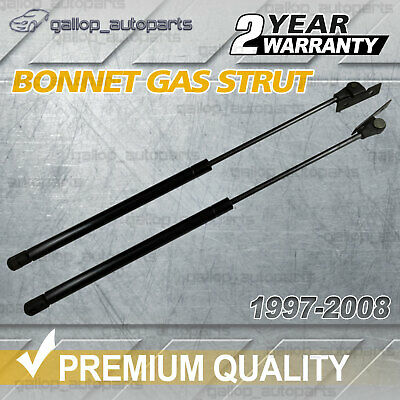 2x for Holden Gas Stay Bonnet Struts VT VU VY VZ 1997-2008 Commodore Berlina HSV
