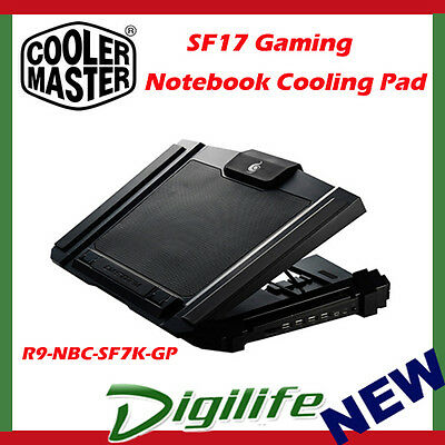 CoolerMaster SF-17 cm storm Gaming Laptop Cooling Pad cooler master sf17