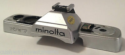 Minolta Xg-7  Spare Part - Top Plate