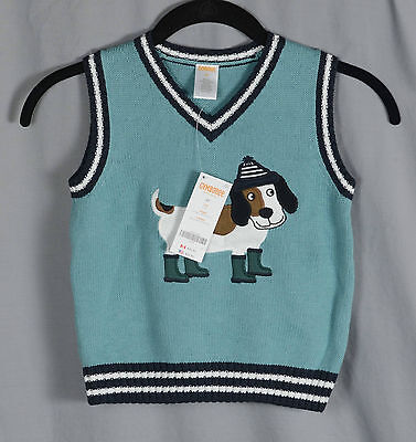 Gymboree Baby Sweater Vest Size 2T Months NWT