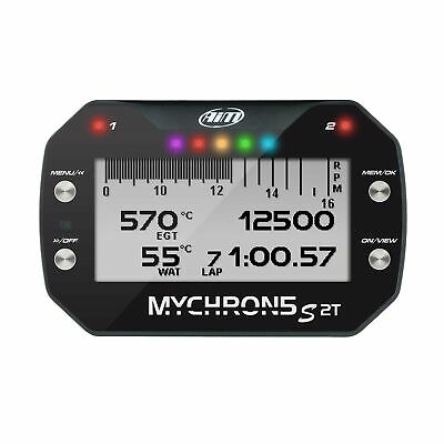 AIM Motorsport MyChron5 2T Dash Data Logger / Kart Lap Timer With GPS