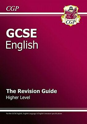 GCSE English: Revision Guide (for GCSE English and GCS... by CGP Books Paperback