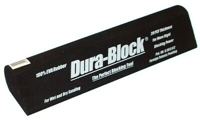 DURA-BLOCK Tear Drop 10-7/8in L, Thickness: 2-1/8in at max - Hand Sander AF4406