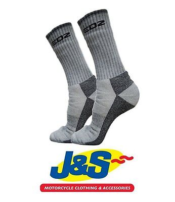Edz All Climate Thermal Motorcycle Socks Walking Outdoors Touring Boot Sock J&s