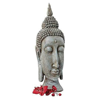 New Design Toscano Sukhothai Buddha Asian Garden Sculptural Bust Ornament