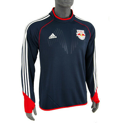 ADIDAS Mens NEW YORK RED BULLS 2014/15 L/S Football Training Shirt  XL BNWT