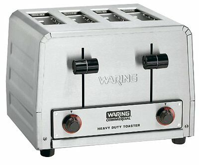 Waring WCT820 Commercial Heavy Duty Bagel Toaster 120V NSF 1 Year Warranty