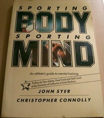 Sporting Body/Mind by Connolly, Christopher Paperback Book The Cheap Fast Free