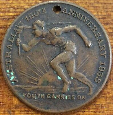 Australia's 150th anniversary Youth Medallion