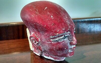 Vintage Antique Egyptian Princess Pharaoh Head King Tut Tutankhamen Tomb Repo