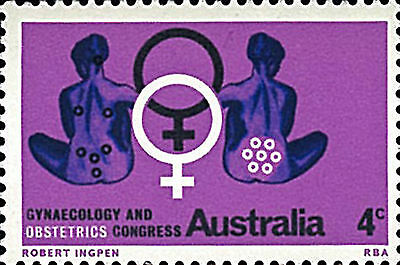 Australia Stamp JH448, 1967 5th World Congress of Gynaecology & Obstetrics