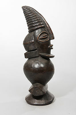 Kuyu Staff Head, Democratic Republic of Congo, African Tribal Sculpture