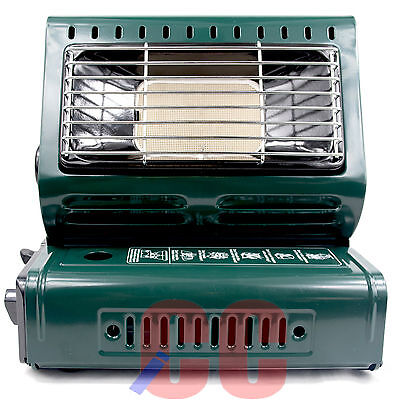 Portable Gas Heater Outdoor Camping Fishing Compact Equipment light Caravan
