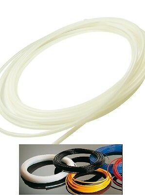 Ptfe - Hose Natural Teflon Pneumatic Tube Sold by the Meter Food Hose 500° F