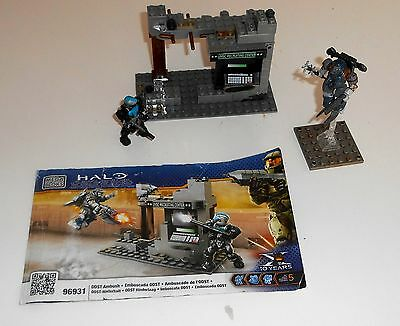 Halo Mega Bloks 96849 Unsc Mongoose Constructed Without