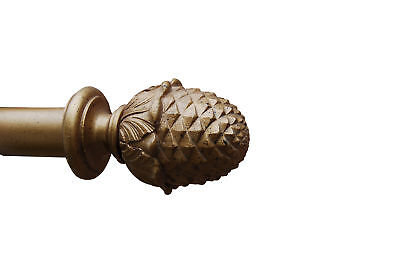 Hickory Manor House Pineapple Curtain Finial