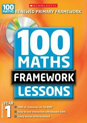100 Maths Framework Lessons, Year 1 by Montague-Smith, Ann Mixed media product