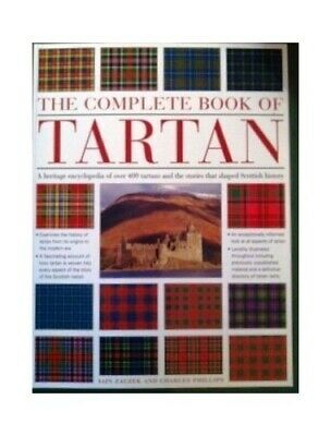 The Complete Book of Tartan by Phillips, Charles Paperback Book The Cheap Fast