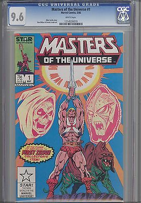 Masters of the Universe #1  CGC 9.6 1986 Star Comic