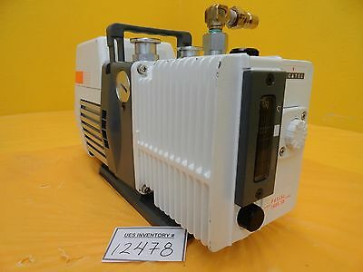 Alcatel Pascal 1005 SD Rotary Vane Pump with Inlet Port Used Tested Working