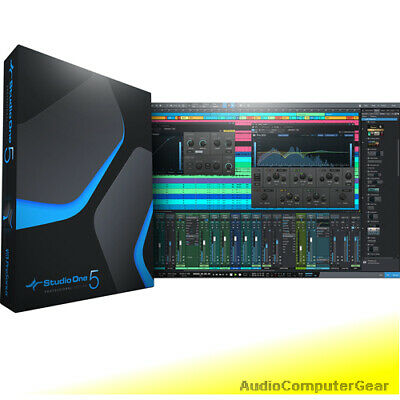 PreSonus STUDIO ONE 4 PROFESSIONAL UPGRADE FROM PRO 1, 2 or 3 Software DAW NEW