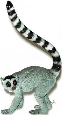FREE SHIPPING | AAA 55028 Ring-tailed Lemur Wild Animal Figurine- New in Package