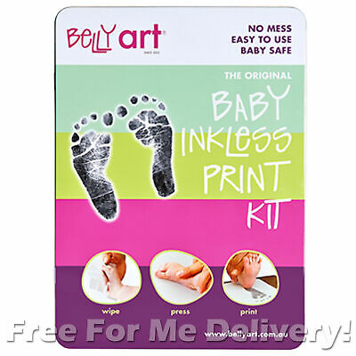 BABY MADE BABY INKLESS PRINT KIT - Safe No Mess Hand Foot Print **FREE DELIVERY*