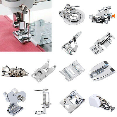 Domestic Sewing Machine Presser Foot Feet Part For Janome Brother Singer Part