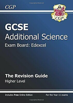 GCSE Additional Science Edexcel Revision Guide - Higher, CGP Books Book The