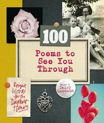 100 Poems To See You Through by Goodwin, Daisy Book The Cheap Fast Free Post