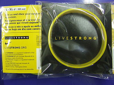 LIVESTRONG Wrist Band Lance Armstrong Only 1 Postage !!