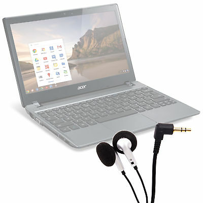 Comfortable & Stylish In-Ear Design Earphones for Acer Chromebook Series C7