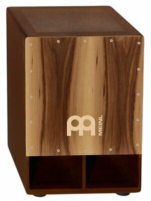 Meinl SUBCAJ5WN Custom Jumbo Bass Percussion Cajon Drum Walnut Finish
