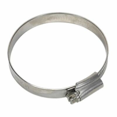 Sealey SHCSS3 Hose Clip Stainless Steel Ø64-76mm Pack of 10