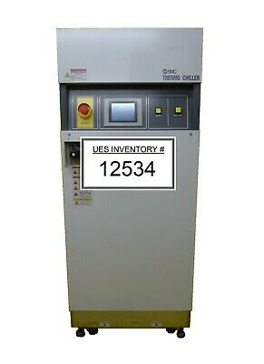 SMC INR-497-049 Dual Channel Thermo Chiller Used Tested Working