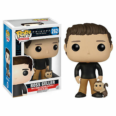 Friends FUNKO POP Vinyl Figurine ROSS GELLER 9 cm