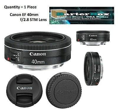 Clearance Deal Sale 40mm Retail Box Canon Ef 40 mm f/2.8 Stm Pancake Lens