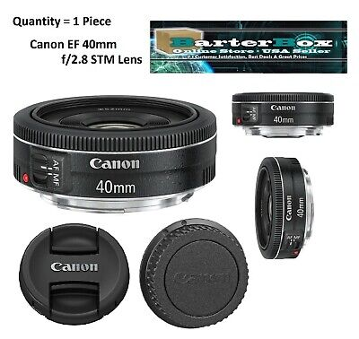 Memorial Day Deal Sale 40mm Retail Box Canon Ef 40 mm f/2.8 Stm Pancake Lens