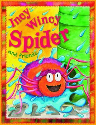Incy Wincy Spider and Friends by Belinda Gallaher (English) Paperback Book Free