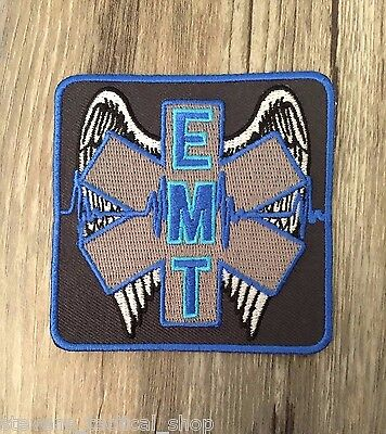 Winged EMT Star of Life Patch