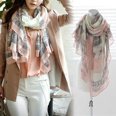 Fashion Ladies Shawl Large Silk Scarves Women Long Print Soft Cotton Scarf Wrap