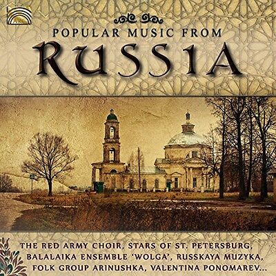 The Red Army Choir - Popular Music from Russia [New CD]