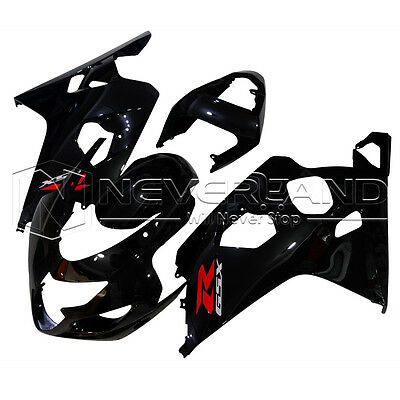 Injection Bodywork Fairing Kit for Suzuki GSXR 600 GSX R 750 K4 2004-2005 #92