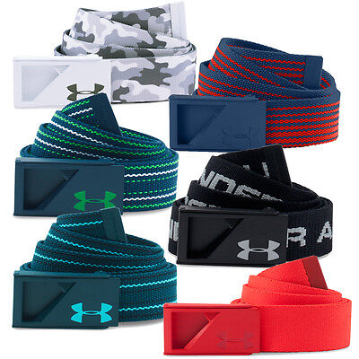 Under Armour 2016 Mens UA Range Webbing Golf Belt Casual Canvas