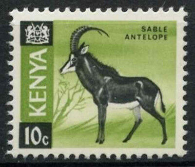 Kenya 1966-71 SG#21, 10c Definitive Sable Antelope MNH Chalk Paper #D11169