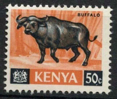 Kenya 1966-71 SG#26, 50c Definitive Buffalo MNH Chalk Paper #D11175