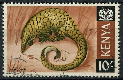 Kenya 1966-71 SG#34, 10s Definitive Pangolin Used #D11190